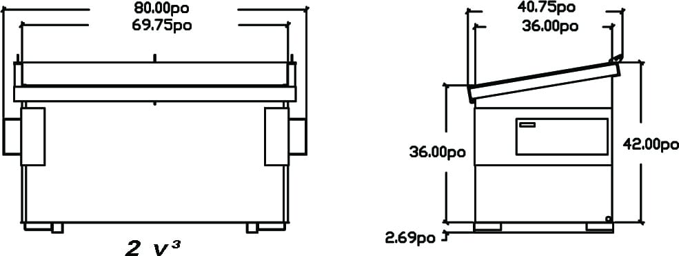 schema-dessin-du-conteneur-a-chargement-avant-incline-2vc-de-laurin-conteneurs