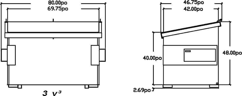 schema-dessin-du-conteneur-a-chargement-avant-incline-3vc-de-laurin-conteneurs