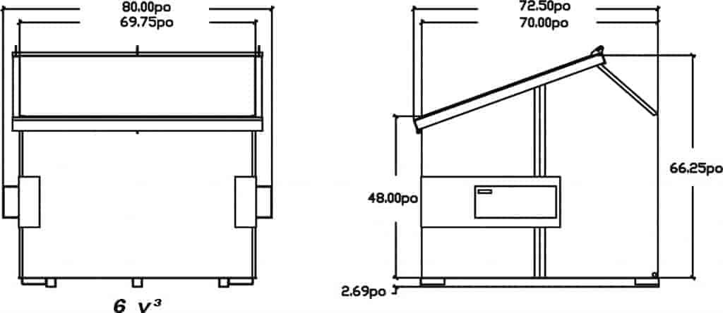schema-dessin-du-conteneur-a-chargement-avant-incline-6vc-de-laurin-conteneurs