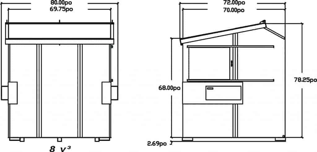 schema-dessin-du-conteneur-a-chargement-avant-incline-8vc-de-laurin-conteneurs