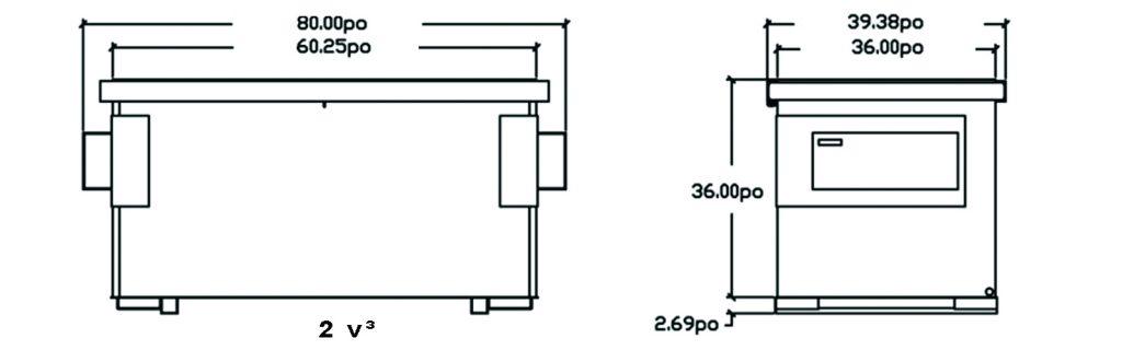 schema-dessin-du-conteneur-a-chargement-avant-2vc-de-laurin-conteneurs