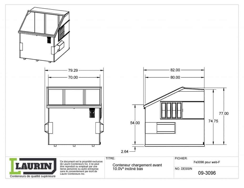 conteneur-chargement-avant-10vc-incline-profile bas-fe3096-web-laurin-conteneurs